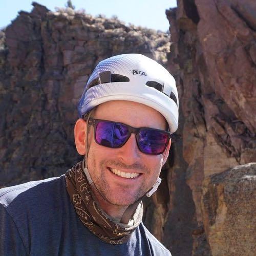 Smith Rock Climbing School guide Geoff Lodge