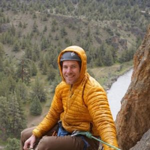 Smith Rock Climbing School guide Ben Randall