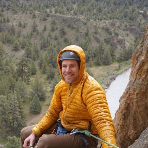 Smith Rock Climbing School guide Ben Randall